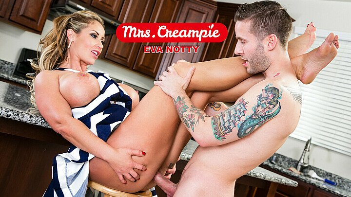 Neighbor needs milk and Eva Notty will get some heavy cream on her pie