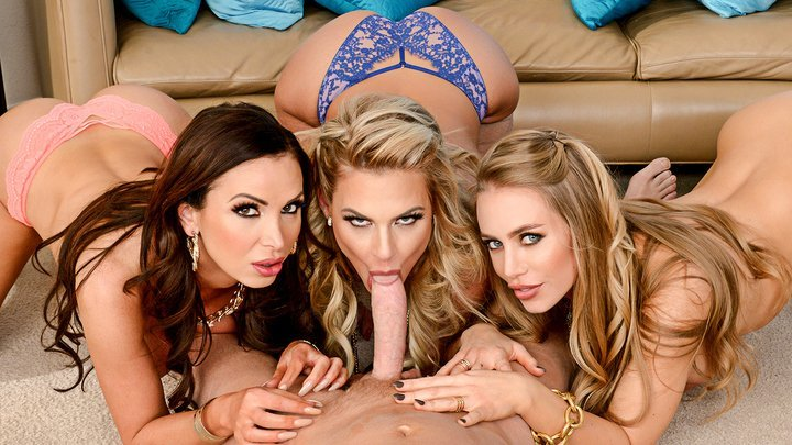 Nicole Aniston, Nikki Benz & Phoenix Marie
