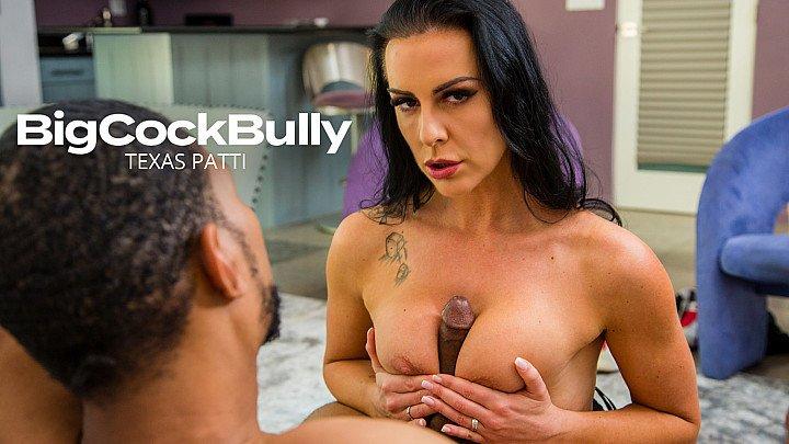 Texas Patti takes a big black cock