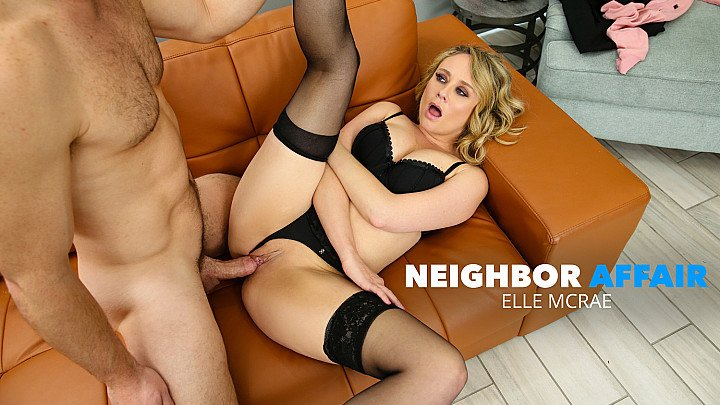 Elle McRae cheats on husband with manly neighbor