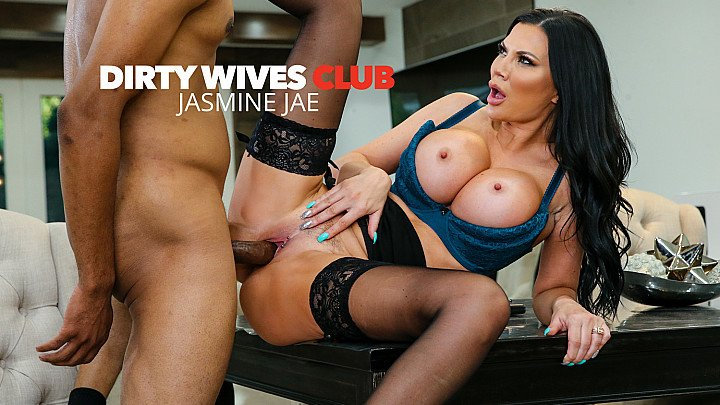 Jasmine Jae helps herself to a Big Black Cock!