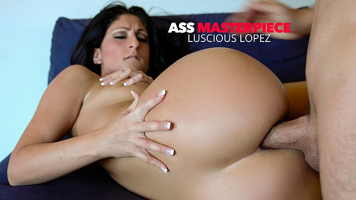 Luscious Lopez getting her big ass fucked