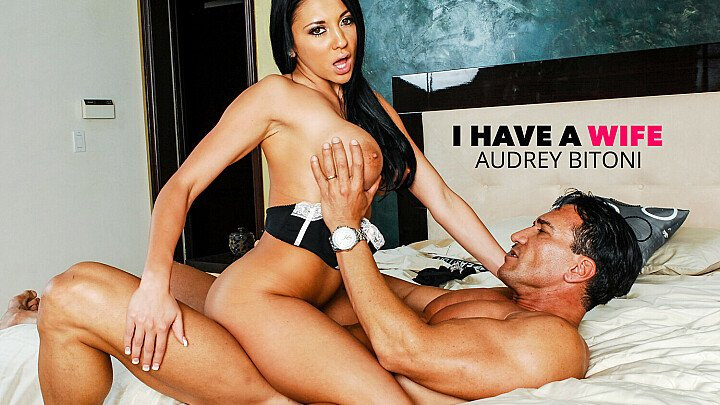 Beautiful Audrey Bitoni fucks a married man